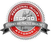 2019 TOP 10 PERSONAL INJURY ATTORNEY